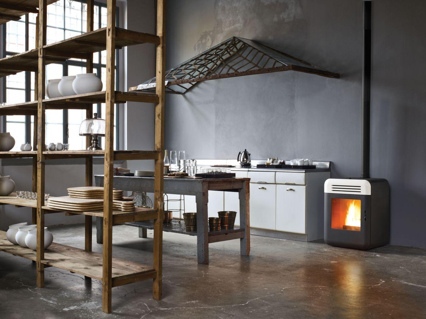 pellets fen pelletkaminofen von kaminbau weber erbach bei ulm. Black Bedroom Furniture Sets. Home Design Ideas